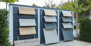Displays voor terrastegels